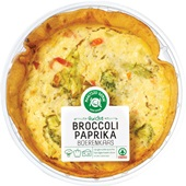 Spar Ambachtelijke quiche Broccoli, paprika en boerenkaas voorkant