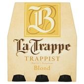 La Trappe bier blond voorkant