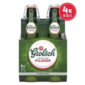 Grolsch bier premium pilsener beugelfles voorkant