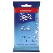 Tempo Fresh To Go Vochtige Doekjes Voor Handen En gezicht voorkant