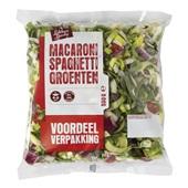 macaroni/spaghetti groenten voorkant