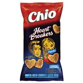 Chio Heartbreakers chips paprika voorkant
