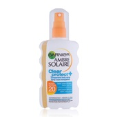 Ambre Solaire Clear Protect Spray factor 20 voorkant