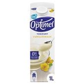 Optimel yoghurt vanille voorkant