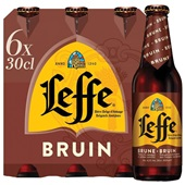 Leffe Bier Dubbel Bruin voorkant