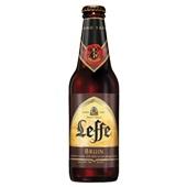 Leffe Bier Dubbel Bruin achterkant