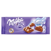 Milka Chocolade Tablet Bubbly voorkant