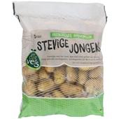 vastkokende aardappelen voorkant