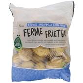 friet aardappelen kruimig voorkant