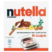 Nutella Hazelnootpasta Cups achterkant