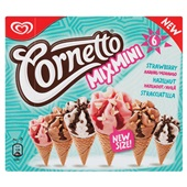 Ola Cornetto IJs Mix Strawberry voorkant
