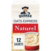 Quaker Havermout Oats Express Naturel voorkant