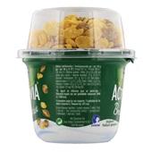 Activia Breakfast Yoghurt Natuurlijk Gesuikerd Met Granen achterkant