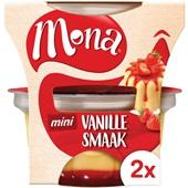 Mona Vanillepudding Aardbeiensaus voorkant