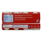 Actimel Drinkyoghurt Aardbei 8X100 Gram achterkant