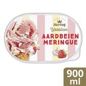 Hertog Ijs Aardbeien Merengue voorkant