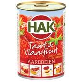Hak Taart & Vlaaifruit Aardbeien voorkant