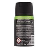 Axe Compressed Deodorant Black achterkant