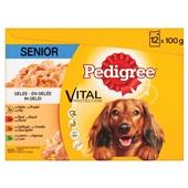 Pedigree Hondenvoer Senior In Gelei voorkant