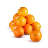 Perssinaasappelen voorkant