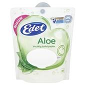 Edet vochtig toiletpapier aloë vera pouchverpakking voorkant