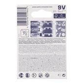 Duracell Alkaline 9 Volt achterkant