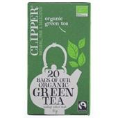Clipper Thee Organic Green Tea voorkant