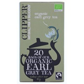 Clipper Thee Organic Earl Grey Tea voorkant