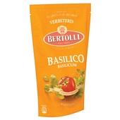 Bertolli Pastasaus Basilicum achterkant