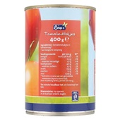 Bio+ Tomatenblokjes achterkant