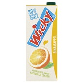 Wicky fruitdrink sinas voorkant