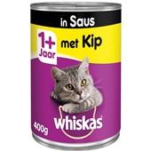 Whiskas Kattenvoer Kip In Saus voorkant