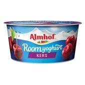 Almhof Roomyoghurt Morello Kers voorkant