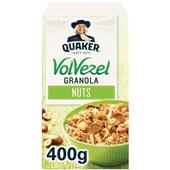 Quaker granola volvezel noten voorkant