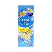 Crystal Clear Vruchtendrank Citroen Passievrucht voorkant