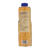 Spar Siroop Sinaasappel achterkant
