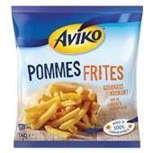 Aviko pommes frites achterkant