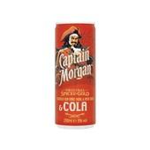 Captain Morgan Rum Cola voorkant