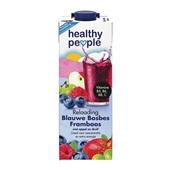 Healthy People Vruchtensap Blauwe Bosbes Framboos voorkant