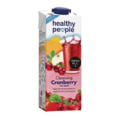 Healthy People Vruchtensap Cranberry voorkant