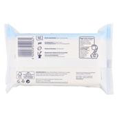 Page vochtig toiletpapier cotton fresh navulverpakking achterkant