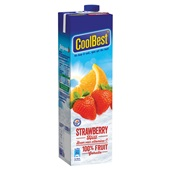 Coolbest Vruchtensap Strawberry Hill achterkant