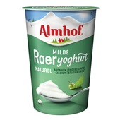 Almhof roeryoghurt naturel voorkant
