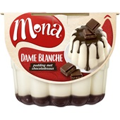 Mona Pudding Dame Blanche voorkant