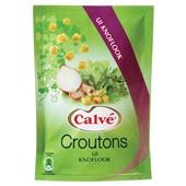 Calvé Croutons Ui-Knoflook voorkant
