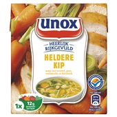 Unox Soep In Zak 1 Persoons Kip voorkant