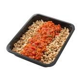 Culivers (64) volkoren macaronischotel vegetarisch  achterkant