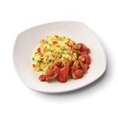 Culivers (63) vegetarische grillstukjes met pomodorisaus en Italiaanse rijstschotel voorkant