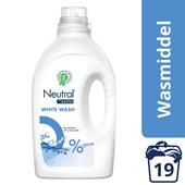 Neutral wasmiddel vloeibaar wit voorkant