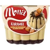 Mona Pudding Caramel Met Saus voorkant